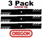 3 Pack Oregon 396 726 G6 Gator Mulcher Blade for Exmark 103 2508 303283 303495