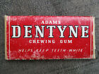 VINTAGE 1940s ADAMS DENTYNE CHEWING GUM FULL UNOPENED PACK