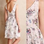 Maeve White Garden Floral Dress 12