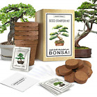 Bonsai Tree Starter Indoor and Outdoor Beginner Seed Kit Pots Plant Markers