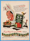 1952 S&W Vegetable Juice Cocktail Milton Berle NBC TV Texaco Star Theater Ad