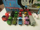 Thomas & Friends Wooden Train Lot (12) THUMPER ROSIE DIESEL MIKE PERCY USED