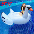 Inflatable Leisure Giant Swan Float Toy Rideable Raft Swimming Pool Celebrity BT