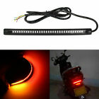 48-SMD Red Amber LED Bar For Brake Tail Light & Turn Signal Lamp Motorcycle Bike