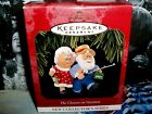 The Clauses On Vacation`1997`Mr And Mr's C Doing Some Fishing,Hallmark Ornament