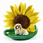 Pekingese Sunflower Figurine