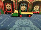 Thomas & Friends Wooden MADGE & TRAILER Train Car USED BOX 13 $
