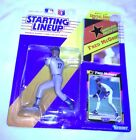 1992 Starting Lineup Figure MLB Fred McGriff San Diego Padres w/Poster -Rookie
