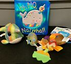 Oh No, Narwhal Book Ty Beanie Narwhal Mini Ty Narwhal Taggies Owl Teether Baby