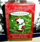 Snoopy Ornament`2000`Share The Fun With Woodstock And Friends,Hallmark Ornament