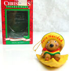 New Gibson Christmas Collectible ORNAMENT FELIZ NAVIDAD Mouse Nacho Chip Box