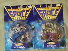 Lot of 2 Captain Simian  The Space Monkeys Action Figures Spydor Gor illa 1996