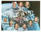 Astronaut Paul Weitz Signed Skylab Prime Crews Photograph