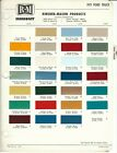1971 FORD TRUCK VAN AND BRONCO PAINT CHIPS R M