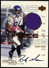 2000 Randy Moss Upper Deck Pros and Prospects Auto Autograph Jersey Vikings