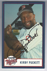 Kirby Puckett Cards, Rookie Card and Autographed Memorabilia Guide 47