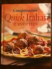 Cookbook Weight Watchers Quick Italian Favorites