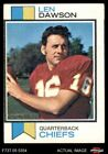 Top 10 Len Dawson Football Cards 26