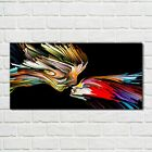 Glass Print 100x50 Abstract Colourful Picture Wall Art Home Decor