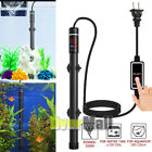 Upgraded 500W Aquarium Heater Submersible Titanium Fish Tank w LED Temperature