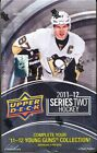 2011 12 UPPER DECK SERIES 2 SEALED HOBBY HOCKEY BOX