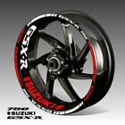 SUZUKI GSX-R 750 wheel decals tape stickers gsx-r750 gsxr750 rim stripes