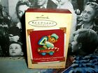 Child's Fourth Christmas`2001`Child's Age Collection`Hallmark Christmas Ornament