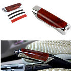 Universal Red Hand Brake Protector Decoration Cover Carbon Fiber Car Accessory !