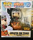 Funko Pop! Rides•Naruto•JIRAIYA ON TOAD•Pop: Hot Topic Exclusive #73