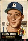 Warren Spahn Cards, Rookie Cards and Autographed Memorabilia Guide 5