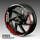 HONDA CBR 600 F4I wheel decals tape stickers cbr600f4i cbr 600f4i rim stripes