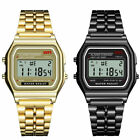 Casio Classic F-91W Watch Men Luxury Classic Gold Silver black Color stainless