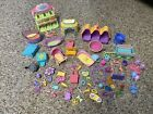 LPS Littlest Pet Shop Lot of Accessories Treat Center Pet Toys Play Set Birth
