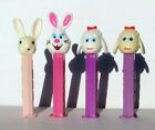 4 PEZ Easter Rabbit, Bunny D, Lamb ~ Dispensers Only - Retired