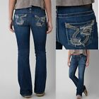 Big Star Vintage Jeans Low Rise Liv Blowout Omega Bootcut Stretch 24 26 27 29