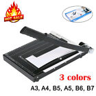 3 Sizes Paper Cutter A3 to B7 Metal Base Guillotine Page Trimmer Blade Scrap 03