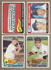 1965 65 Topps LOT OF 24 DIFFERENT HIGH NUMBER ONLY FROM 379 TO 596 with SPs