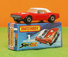 MATCHBOX SUPERFAST 1 DODGE CHALLENGER 1975 DIECAST MODEL MIB BEAUTY