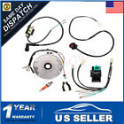 4 Stroke Wiring Loom Switch Coil Spark Harness For 50cc 70cc 140cc Dirt Pit Bike