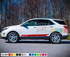 Sticker Decal for Chevrolet Equinox Light lip spring clear xenon skirt wing 2015