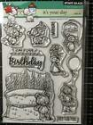 New Penny Black Rubber Stamp set ITS YOUR DAY BIRTHDAY free USA ship