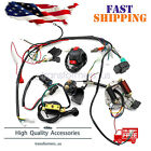 50cc 125cc CDI Wire Harness Stator Assembly Wiring For Chinese ATV Electric Quad