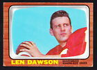 Len Dawson Cards, Rookie Card and Autographed Memorabilia Guide 17