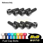 Fuel Tank Cap Bolts CNC Fit Ducati Monster 821 1200 S/R 620 695 S2R 800 1000 S4R
