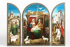 Religious Gifts Holy Family Icon Nativity Triptych Christmas Decoration Gift 7 1