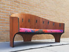 60s HENRY P GLASS Settee Lounge Chair Intimate Island MCM Eames Dunbar Knoll Era