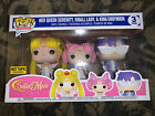Funko POP Sailor Moon 3 Pack - Neo Queen, Small lady, King Endymon HT Exclusive