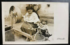 Mint Ecuador Real Picture Postcard RPPC Otavalo Indian Native Women And Child