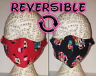Disney Minnie Mouse face mask Reversible Handmade 100 cotton Double layer