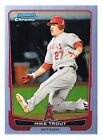 MIKE TROUT - 2012 BOWMAN CHROME #157 - REFRACTOR - ROOKIE CARD, RC